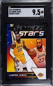 2019-20 Donruss #4 LeBRON JAMES Fantasy Stars Graded SGC 9.5 Mint+ LA Lakers