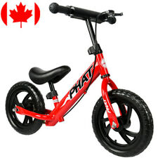 "12"" Balance Bike Classic Kids No-Pedal Learn To Ride Pre Bike w/ Adjustable Seat"