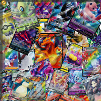 50 Pokemon Cards Ultimate Pack 1 V/V Max ULTRA RARE 9 Rares/shiny FAST DISPATCH