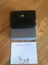 Mulberry Bow Double Coin Purse Holder NWT!
