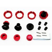 Hot Racing YEX10X02 Axial Yeti XL RTR 17mm Hex 5mm Extended Wheel Hubs & Nuts