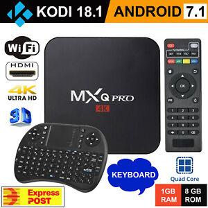 5G MXQ PRO 4K TV BOX Android 10.1 Quad Core Smart Media Player 1GB+8GB