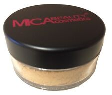 Mica Beauty Makeup Mineral Foundation Powder #MF-5 Cappuccino MicaBella 012021