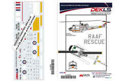 Decal UH-1B Iroquois 'Huey' RAAF - Delivery Scheme 1/48 Scale