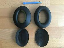 2x Kunstleder Ohrpolster / Bose Quietcomfort 35 QC35 wireless II Kopfhörer