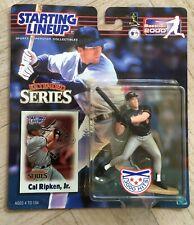 NEW 2000 MLB Starting Lineup Action Figure Cal Ripken Jr Baltimore Orioles