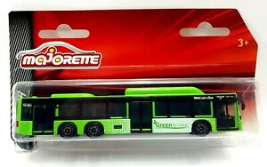 Majorette Trailer MAN Lion's Bus Green 'Green By Nature' New And Sealed