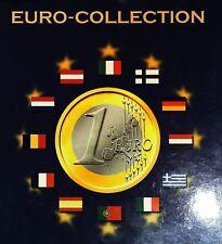 Europa Kms Sammelalbum 12 Länder Kursmünzensätze Album bestückt Rarität top