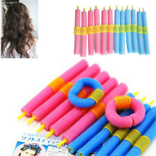 12Pcs Fashion Bendy DIY Sponge Foam Hair Curler Styling Tools Salon Hair Curling