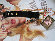 Juicy Couture Bracelet Scottie Dogs Belt Buckle CHOOSE JUICY Charm NEW $48