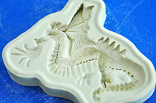 Sugarcraft Molds Silicone Moulds Cupcake, Clay,Chocolate,soap -Dragon #1