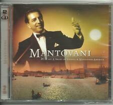 MANTOVANI - A NIGHT IN VIENNA - MANTOVANI - AMERICA - 2 CD's