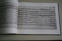 Bach : Brandenburgische Konzerte - Faksimileausgabe in braunem Leinen gebunden