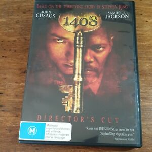 1408 Director's Cut DVD R4 LIKE NEW FREE POST