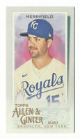 WHIT MERRIFIELD 2020 TOPPS ALLEN & GINTER MINI #259 ROYALS
