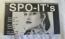 The SPO-IT'S X-Ploitation Roadshow VHS ~ Standard Records Artists