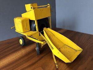 Vintage 1950's Doepke Model Toys Jaeger Cement MixerSteel Construction Truck
