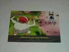 EP24 Primeape Goes Bananas - 2000 Topps Pokemon Series 2 Episode Card