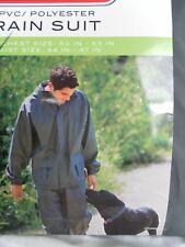 Coleman .35mm PVC Polyeste Rain Suit Green 2X-Large