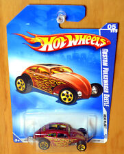 Hot Wheels Volkswagen Beetle [USA exclusive colour/Red]- New/Sealed/Rare [E-808]