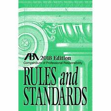 Compendium of Professional Responsibility Rules and Sta - Paperback NEW Kepler,