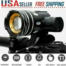 USB Rechargeable Bike Headlight 20000LM XML T6 LED MTB Bicycle Front Head Light