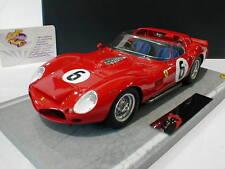 BBR C1803 # Ferrari 330 TRI LM #6 24h Le Mans 1962 O.Gendebien, P.Hill 1:18 NEU