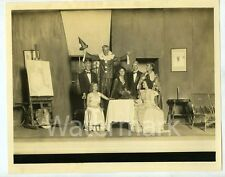 1930s  photo Actors in play by MacDougall Studios  Alhambra  Los Angeles CA