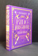KING ARTHUR and HIS KNIGHTS by HOWARD PYLE (Leather-bound collectible) Brand New