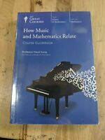 Great Courses:How Music and Mathematics Relate Course Book & 3 DVD Set-Brand New