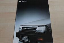 117458) Toyota Starlet Prospekt 09/1987