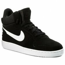 NIKE COURT BOROUGH MID Men's Black/White Sneakers 838938-010