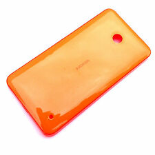 100% Genuine Nokia Lumia 630 635 rear battery cover+side buttons Orange Gloss