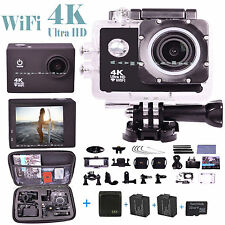 Waterproof Ultra 4K DV Skateboard Cycle Diving Helmet Sports Action Camera GOPRO
