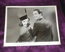 Ida Lupino & Lee Bowman Original Photo The Lady and the Mob