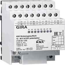 GIRA Binäreingang Bussystem KNX REG 4TE mit LED-Anzeige 8f 212800 IP21