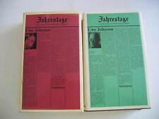 Johnson, Jahrestage 2 + 4 - zwei Bände