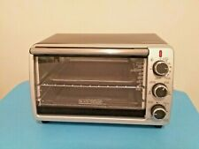 BLACK+DECKER CONVECTION COUNTERTOP TOASTER OVEN ☆#TO1950SBD☆BLACK/STEEL☆ NICE !