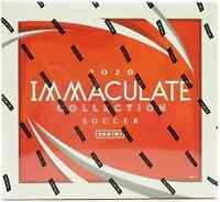 2020 PANINI IMMACULATE COLLECTION SOCCER HOBBY BOX NEW - FREE PRIORITY SHIP