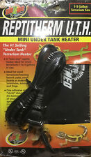 BRAND NEW ZOO MED REPTITHERM MINI UNDER TANK HEATER RH-7 FACTORY SEALED!