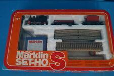 "Marklin 0968 Starter Set ""S"" Steamer + 2 Freight Cars"