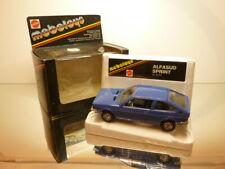 MEBETOYS 6717 ALFA ROMEO ALFASUD SPRINT - BLUE 1:25 - VERY GOOD IN BOX