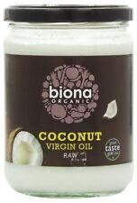 Biona Huile Noix De Coco Vierge Biologique Brut 400g