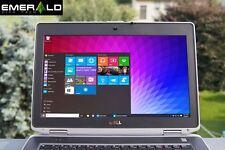 Dell Latitude Laptop E6430 Intel Core i5 8GB 250GB Windows 10 PC WiFi WIN Webcam