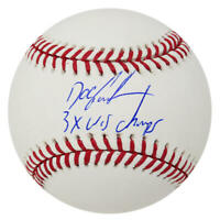 Dwight 'Doc' Gooden Signed Official MLB Baseball w/3x WS Champs - SS COA