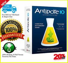 Druide Antidote 10 V2 2020 🔥 Logiciel Préactivé 🔥 License à vie 📥 Windows
