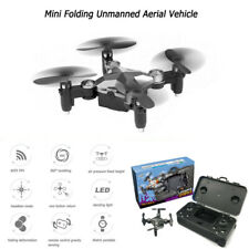 Mini Folding Unmanned Aerial Vehicle Pocket Drone Four-Axis Aircraft Portable