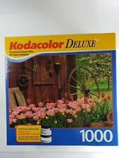"""ROSEART KODACOLOR DELUXE """"COUNTRY SHED"""" 1000 PIECES PUZZLE"""