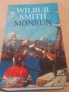Wilbur Smith, Monsum, Gebundenes Buch, Ausgabe 2003, stand nur im Regal,