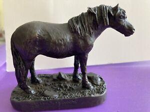 Heredities Fell Pony Or Dartmoor Pony Figure,Ornament,Peggy Alexander